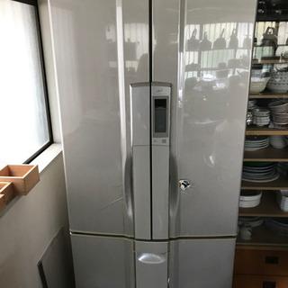 【無料引取希望】465L フレンチドア「トリプル冷却」冷蔵庫 NR-D47H2 - 小山市