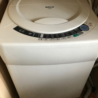 【無料引取希望】全自動洗濯機 NA-F602P - 小山市