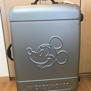 ミッキーマウス スーツケース&ミッキーマウススーツケースベルト付き