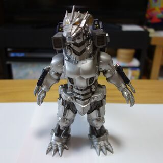 ムービーモンスターシリーズ メカゴジラ(重武装型)シルバー