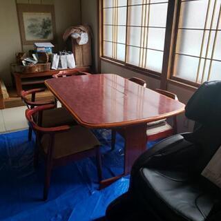 ダイニングテーブル ガスクッキング付き - 札幌市