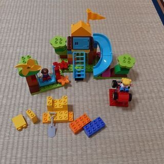 レゴ(LEGO) デュプロ みどりのコンテナスーパーデラックス ...