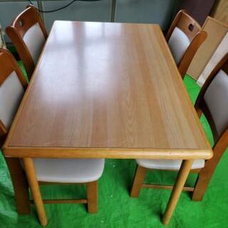 食卓テーブル5点セット