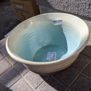 睡蓮鉢!メダカなどの飼育に。新品です