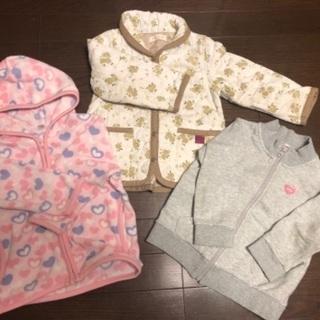 女児秋物服90-100