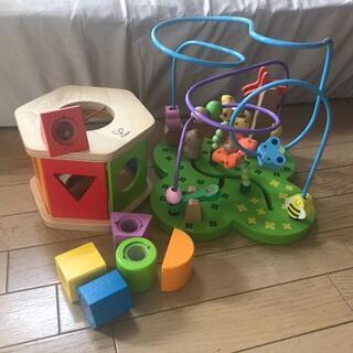 Hapeかたはめおもちゃ知育玩具 手遊び モンテッソーリ