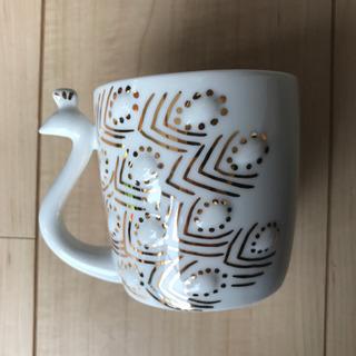 マグカップ フランフラン クジャク キラキラ プレゼント クリスマス
