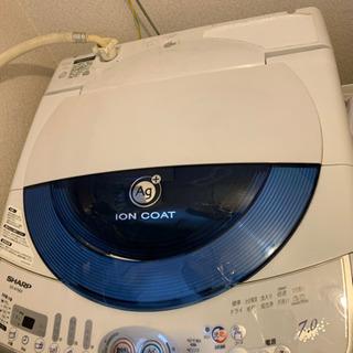 お取り引き進行中です 7キロ シャープ中古洗濯機