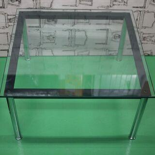 コルビュジエ LC10 ガラス テーブル リプロダクト 70cm...