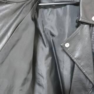 メンズ&レディース バイクレザージャケットMサイズ 未使用 - 服/ファッション