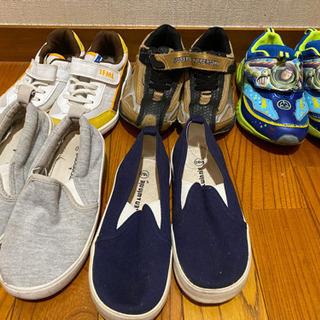 中古 靴 18cm 全部で300円1足100円