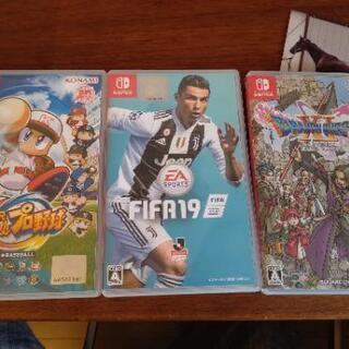[受渡約束済]Nintendo switch パワプロ、FIFA...