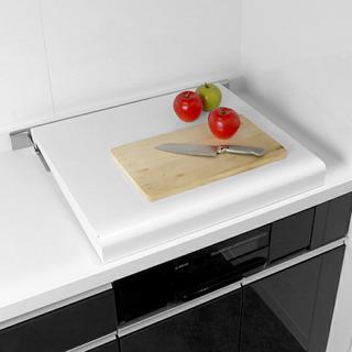 コンロカバー システムキッチン用 スチール製 幅60cm用