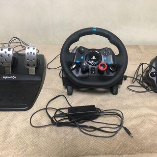 【美品】ロジクール ハンドルコントローラーG29 + 6速シフター