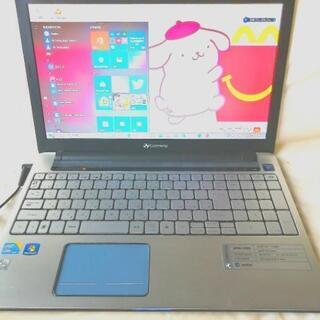 SSD新品搭載 コアi5、高速ノートパソコン