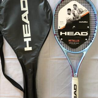 HEAD 硬式テニス ラケット ガット張り上げ済み ブルー グリ...