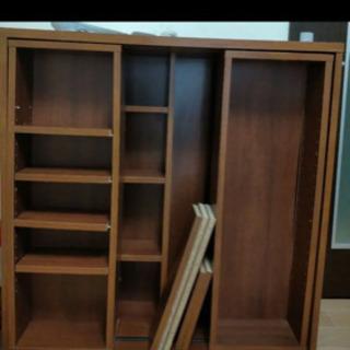 スライド式 大容量本棚