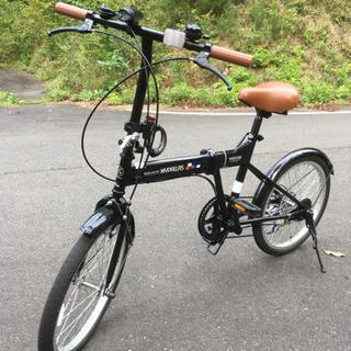 折りたたみ自転車 美品 引き取り限定