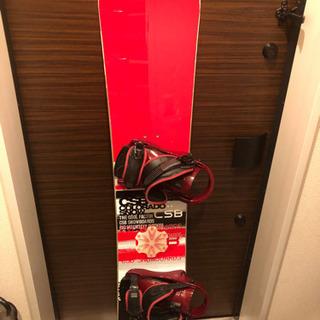 スノーボード板☆メンズ カバー付き