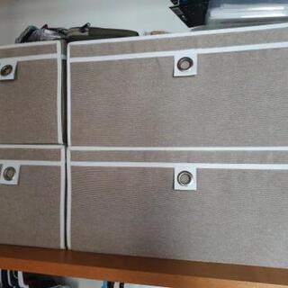 ニトリ 折りたたみ収納ボックス 6個セット