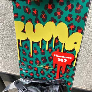 ZUMA スノーボード ビンディングセット