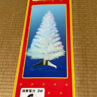 クリスマスツリー(透明リーフファイバー)