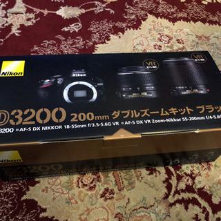 Nikon D3200 ダブルズームキット 高画質 高解像度