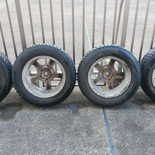 スタッドレスタイヤとホイールをお譲りします(195/65/15)製造2009年10月 - 川崎市