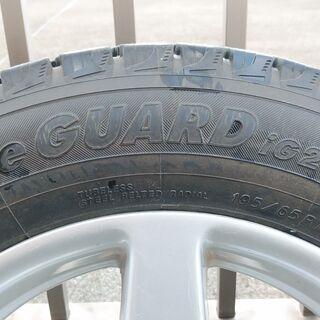 スタッドレスタイヤとホイールをお譲りします(195/65/15)製造2009年10月 - 売ります・あげます