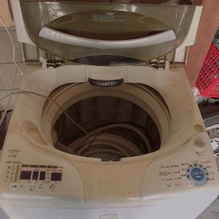 【取りに来てくださる方限定】三菱 洗濯機 maw-v8tp
