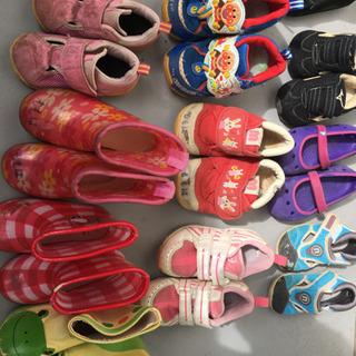 10足セット 赤ちゃん 子供 靴 スニーカー クロックス レインブーツ