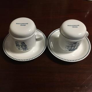 NIKKOの蓋つきカップ&ソーサー