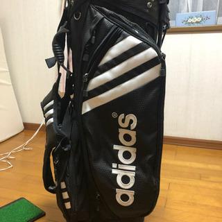 アディダスのゴルフバック(取り引き完了です)