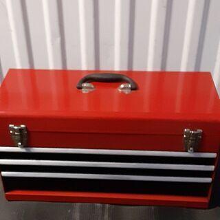 ツールボックス3段 赤