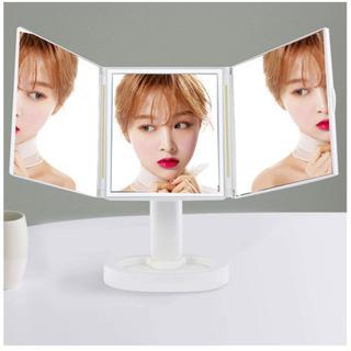新品LEDライト付き 女優ミラー