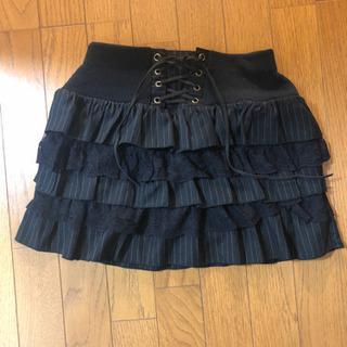超ミニスカート 黒