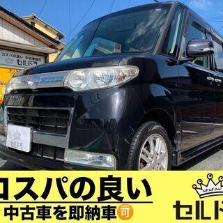 人気の黒タントカスタム スライドドア 車検二年付可!