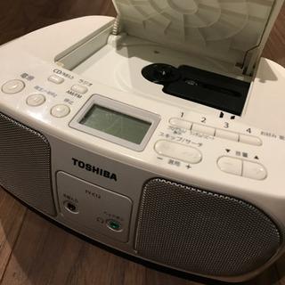 【受け渡し決定しました】CD・ラジオ コンパクトディスクプレーヤー