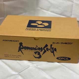スーパーファミコンソフト ロマンシングサガ3 10本セット 新品...