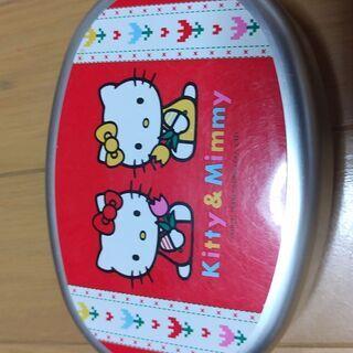 キティーちゃん缶弁当箱