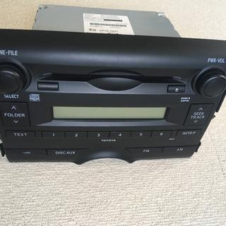 トヨタマークX純正ラジオの画像
