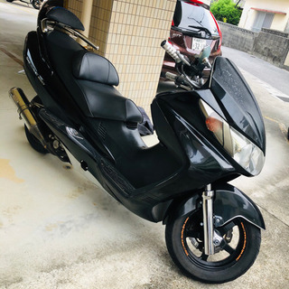 スカイウェーブ250cc  カスタムバイク