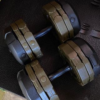 【早い者勝ち❗️】アーミーダンベル20kg セット