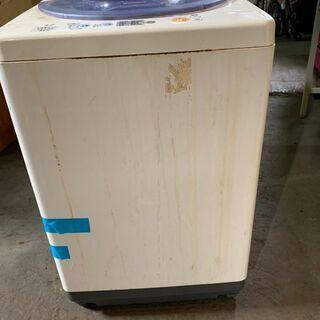 【無料】2005年製 National 4.2kg洗濯機 NA-F42M5 通電確認済 配送OK 無料 あげます 0円の画像
