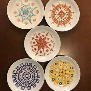 花森安治絵皿 5枚セット 新品未使用
