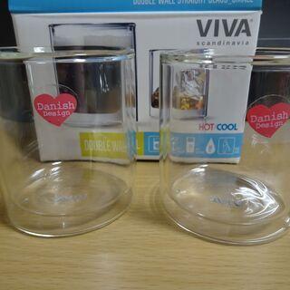VIVA Scandinavia 未使用ダブルウォールグラス2個セット