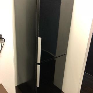 AQUA 冷蔵庫 AQR-D27 自動製氷 鏡面ブラック