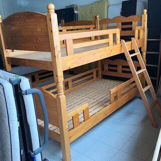 二段ベッド しっかりした造りです
