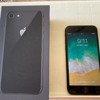 iPhone 8 64G SIMフリー 黒
