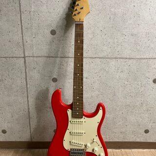 9*69 エレキギター 赤  メーカー不明 品番不明